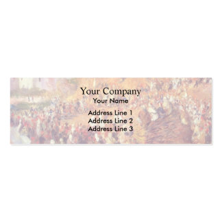 Pierre Renoir- The Mosque Arab Holiday Business Card Templates