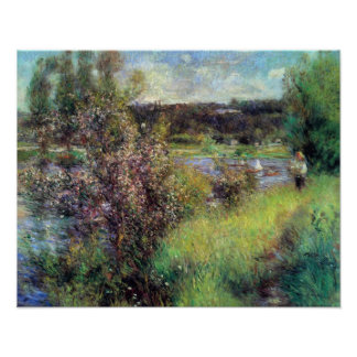 Pierre Renoir - The Seine at Chatou Poster
