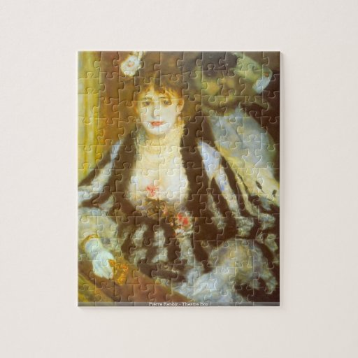 Pierre Renoir - Theatre Box puzzle