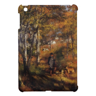Pierre Renoir- Walking His Dogs in the Forest iPad Mini Cover
