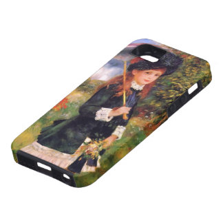 Pierre Renoir: Young Girl with a Parasol iPhone 5 Case