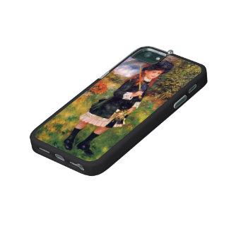 Pierre Renoir: Young Girl with a Parasol iPhone 5/5S Cases