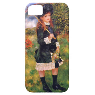Pierre Renoir: Young Girl with a Parasol iPhone 5 Cover