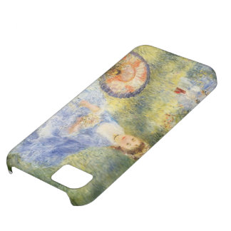 Pierre Renoir-Young Woman with a Japanese Umbrella iPhone 5C Cases