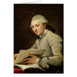 Pierre Rousseau  1774 Card