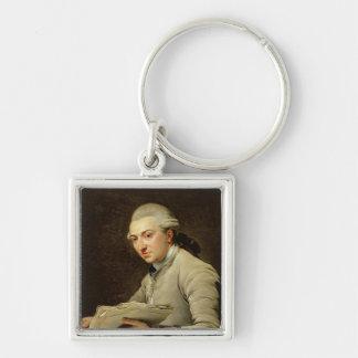 Pierre Rousseau  1774 Keychain