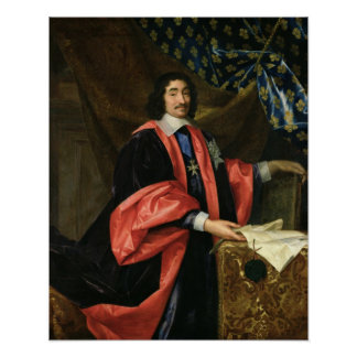 Pierre Seguier  Chancellor of France, c.1668 Poster