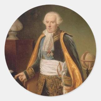 Pierre-Simon, marquis de Laplace Classic Round Sticker