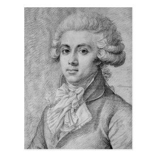 Pierre-Victurnien Vergniaud  1792 Postcard