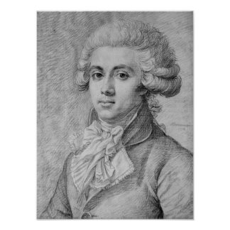 Pierre-Victurnien Vergniaud  1792 Poster