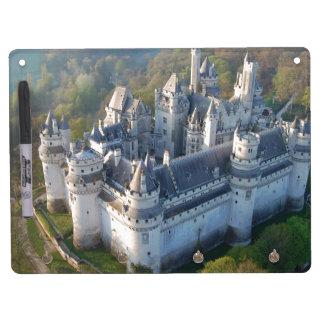 Pierrefonds Castle Dry Erase Board With Keychain Holder