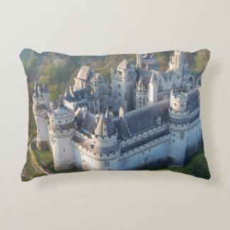 Pierrefonds Castle Accent Pillow