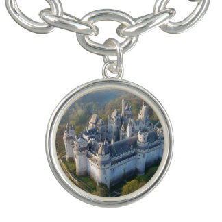 Pierrefonds Castle Charm Bracelet