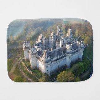 Pierrefonds Castle Burp Cloths
