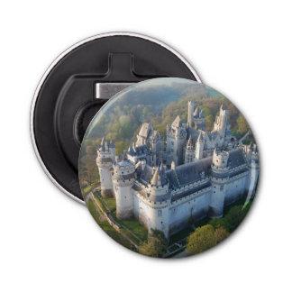 Pierrefonds Castle Button Bottle Opener