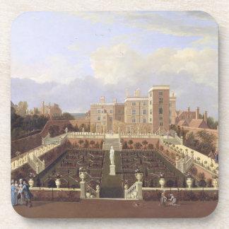 Pierrepont House, Nottingham, c.1708-13 (oil on ca Beverage Coaster
