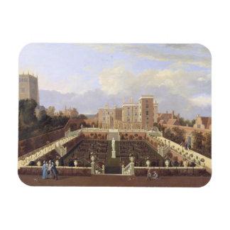 Pierrepont House, Nottingham, c.1708-13 (oil on ca Rectangular Photo Magnet