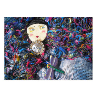 Pierrette brooches fashion large business cards (Pack of 100)