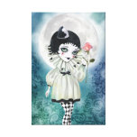 Pierrette Under the Icy Moon Canvas Gallery Wrapped Canvas