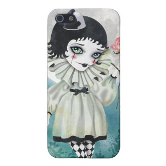 Pierrette Under the Icy Moon iPhone 4 Case