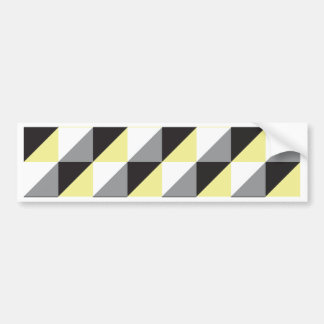 Pierrodress_yellow Bumper Sticker
