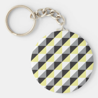 Pierrodress_yellow Keychain