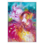 PIERROT AND ARLECCHINA Venetian Carnival, Cards