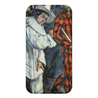 Pierrot and Harlequin , 1888 iPhone 4 Cover