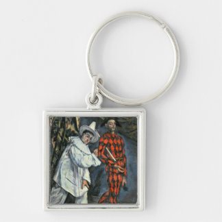 Pierrot and Harlequin , 1888 Key Chains