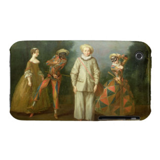 Pierrot and Harlequin iPhone 3 Cases