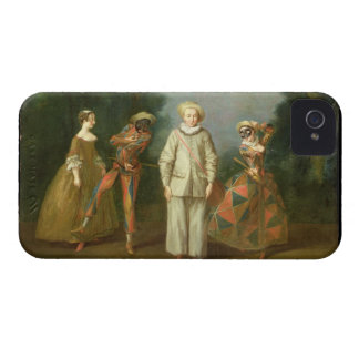 Pierrot and Harlequin Case-Mate iPhone 4 Case