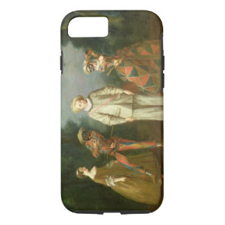 Pierrot and Harlequin iPhone 7 Case