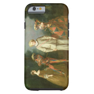 Pierrot and Harlequin Tough iPhone 6 Case