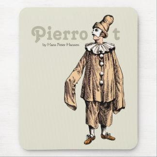 Pierrot by Hans Peter Hansen CC0121 Mouse Pad