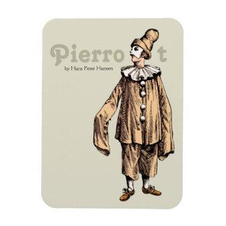 Pierrot by Hans Peter Hansen CC0176 Magnet