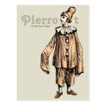 Pierrot by Hans Peter Hansen CC0733 Postcard