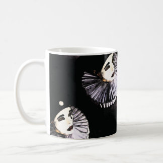 Pierrot Classic White Coffee Mug