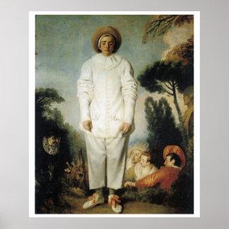 Pierrot: Gilles Poster