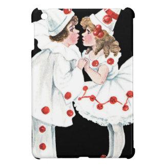 Pierrot Kids Children Clown Couple iPad Mini Cover