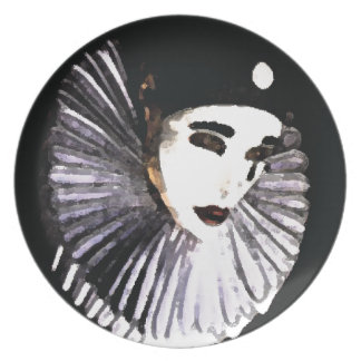 Pierrot Party Plate