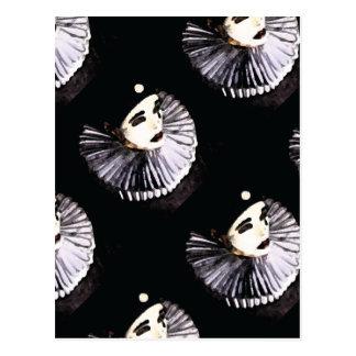 Pierrot Postcard