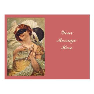 Pierrot Seduction Postcard