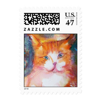 PIERROT WITH CAT 2 ,detail Postage