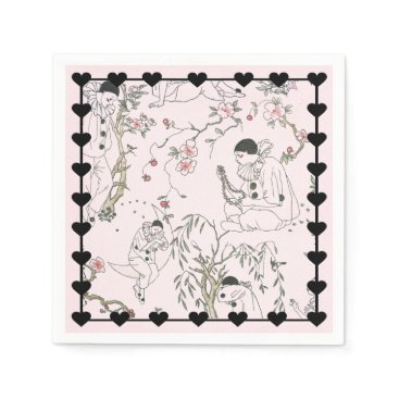 Beach Themed Pierrot's Dream Paper Napkin