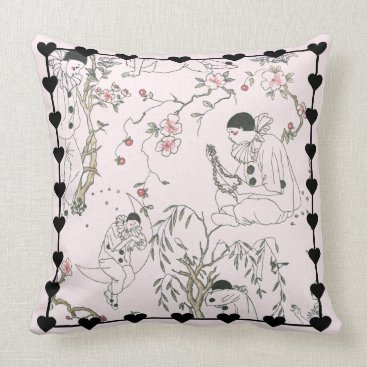Beach Themed Pierrot's Dream Throw Pillow