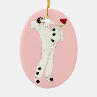 Pierrot's Love Christmas Tree Ornaments