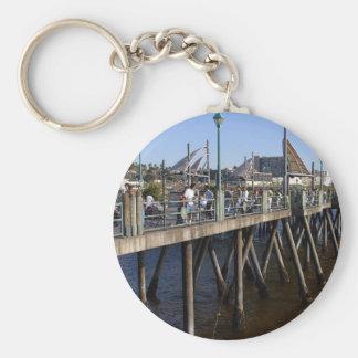 Piers Fishing Fishermen Keychain