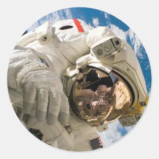 Piers Seller Spacewalk Classic Round Sticker