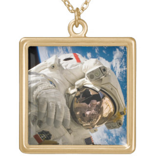 Piers Seller Spacewalk Gold Plated Necklace