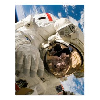 Piers Seller Spacewalk Postcard